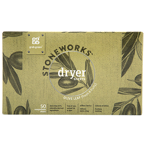 Stoneworks Dryer Sheets—Olive Leaf
