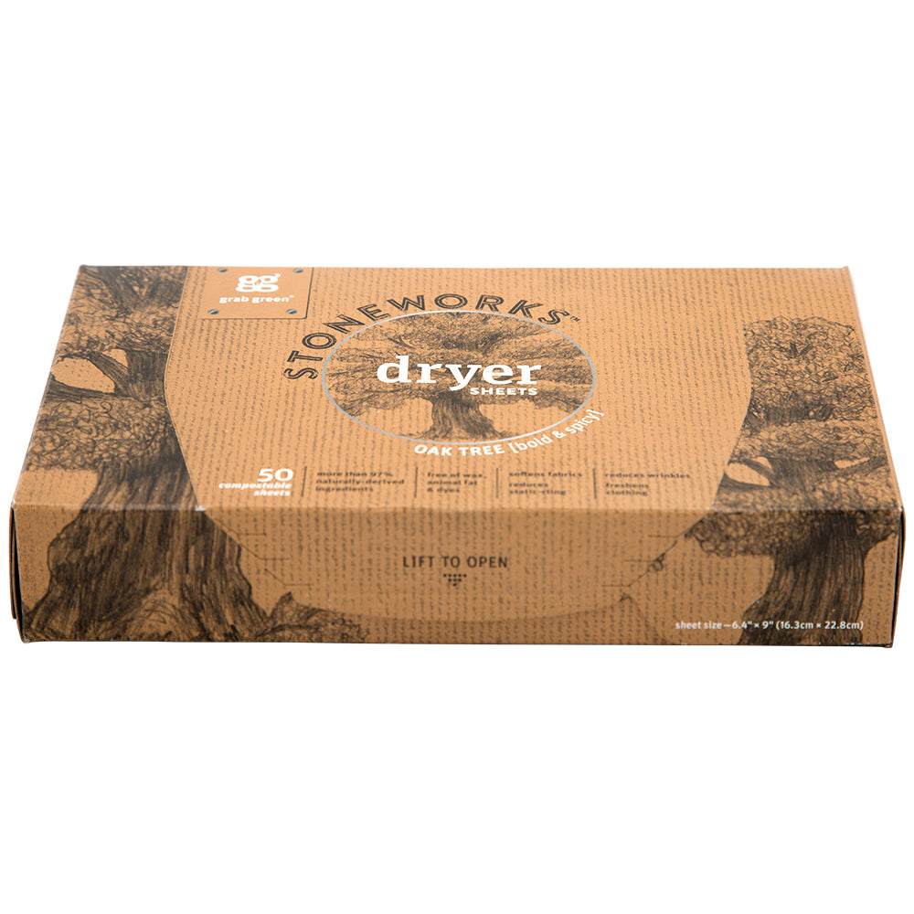 Stoneworks Dryer Sheets—Oak Tree