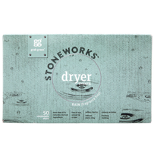Stoneworks Dryer Sheets—Rain
