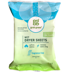 Classic Wet Dryer Sheets—Fragrance Free