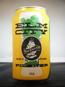 "New England Brewing Company ""Elm City"" Pilsner"