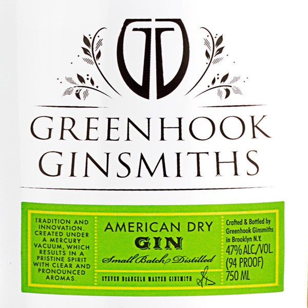 Greenhook Ginsmiths Gins