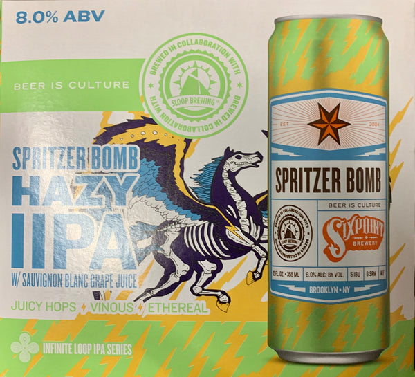 "Sixpoint Brewing ""Spritzer Bomb"" DIPA"