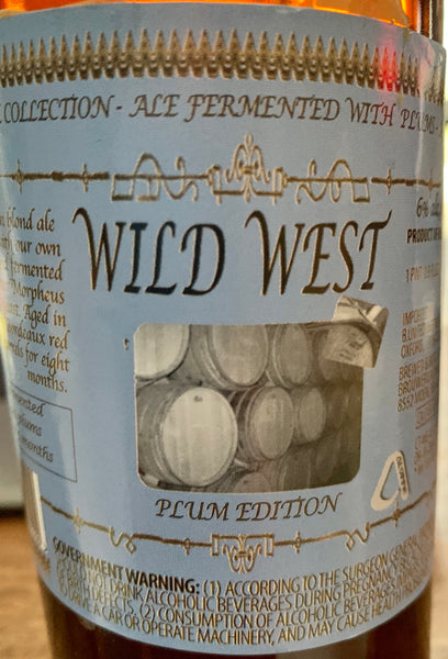 "Brouwerij Alvinne ""The Wild West: Plum Edition"" (500mL)"