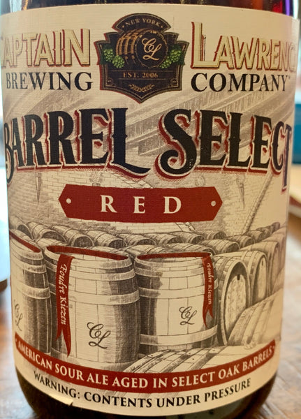 "Captain Lawrence Brewing ""Barrel Select Red"" (12 oz)"