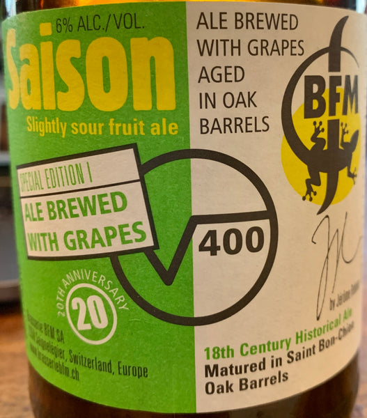 "BFM ""√400 Saison: 20th Anniversary Edition I"" (12 oz)"