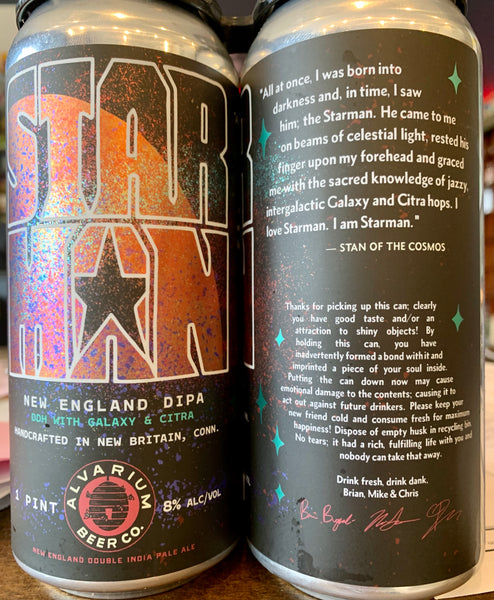 "Alvarium Beer Co. ""Starman"" DIPA"