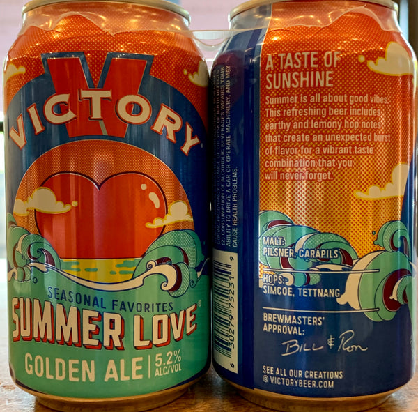 "Victory Brewing ""Summer Love"" Ale"