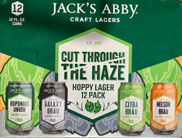 "Jack's Abby Craft Lagers ""Cut Through The Haze"" Variety Pack"