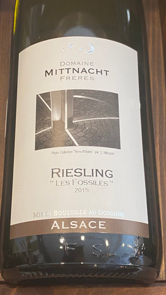 "Domaine Mittnacht Freres Riesling ""Les Fossiles"", 2015"