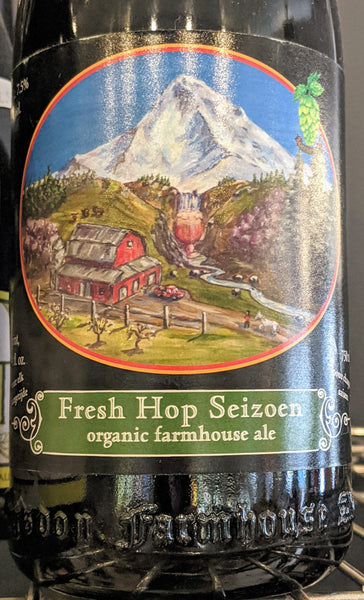 "Logsdon Organic Farmhouse Ales ""Fresh Hop Seizoen"" (750 mL)"