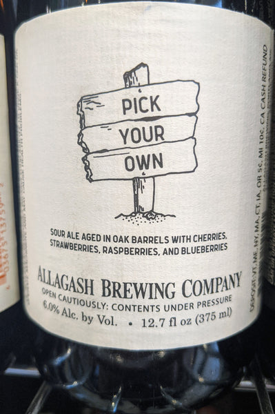 "Allagash Brewing ""Pick Your Own"" (12 oz)"