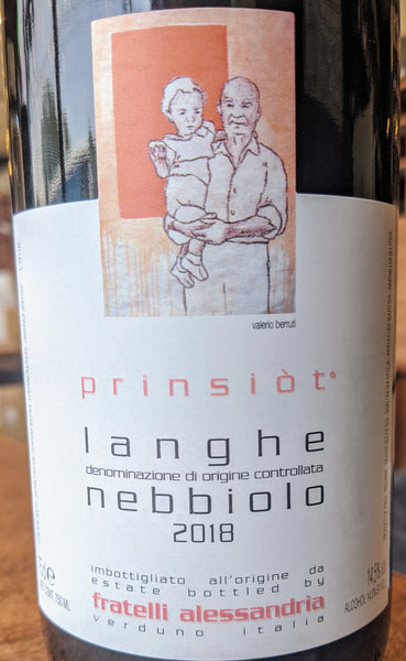 "Fratelli Alessandria Langhe Nebbiolo ""Prinsiòt"" DOC, 2018"