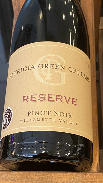 Patricia Green Cellars Willamette Valley Pinot Noir Reserve, 2018