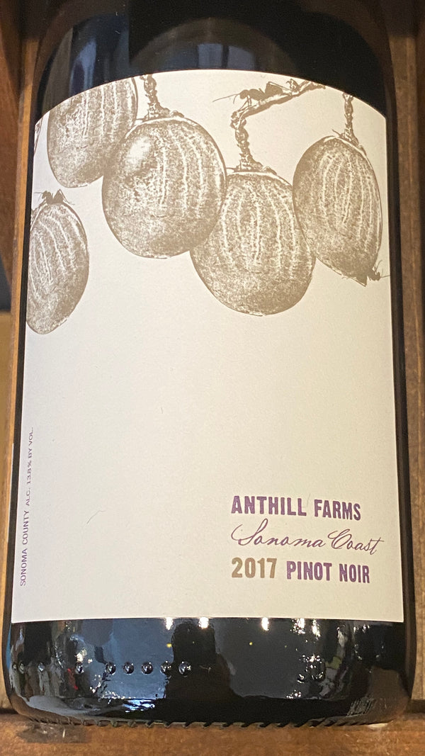 Anthill Farms Pinot Noir Sonoma Coast, 2017