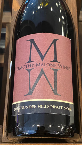 Timothy Malone Wines Pinot Noir Dundee Hills, 2015