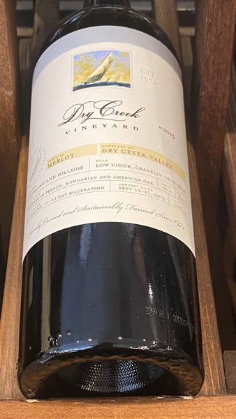 Dry Creek Vineyard Merlot, 2015