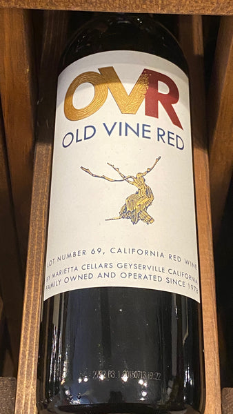 Marietta Cellars OVR Series Lot 69 Old Vine Red California, NV