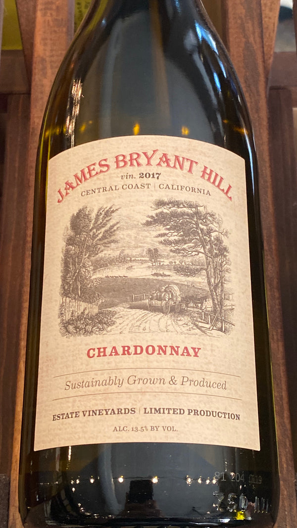 James Bryant Hill Chardonnay Estate Central Coast, 2017