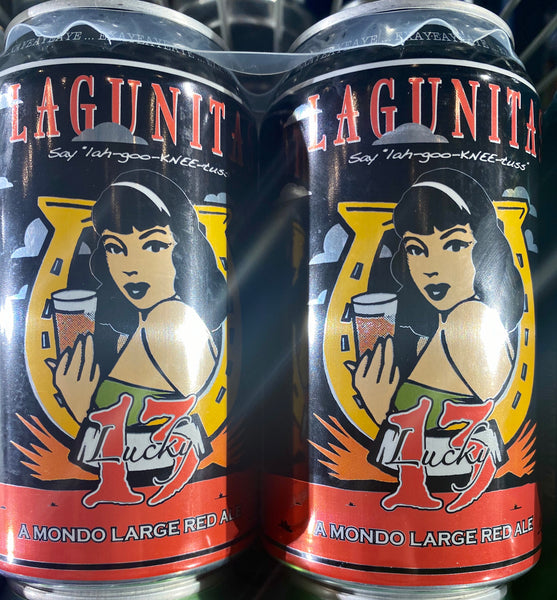"Lagunitas Brewing ""Lucky 13"" Red Ale"