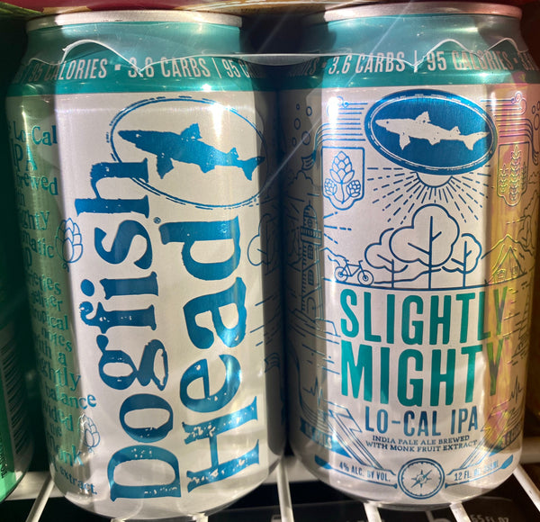 "Dogfish Head Brewing ""Slightly Mighty"" Lo-Cal IPA"