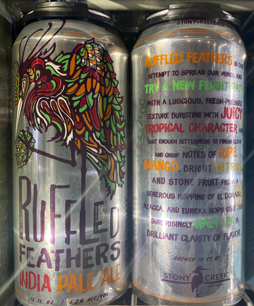 "Stony Creek Brewing ""Ruffled Feathers"" IPA"
