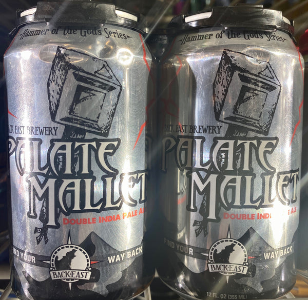 "Back East Brewing ""Palate Mallet"" DIPA"