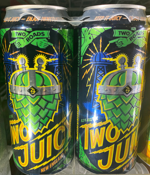 "Two Roads Brewing ""Two Juicy"" NEIPA"