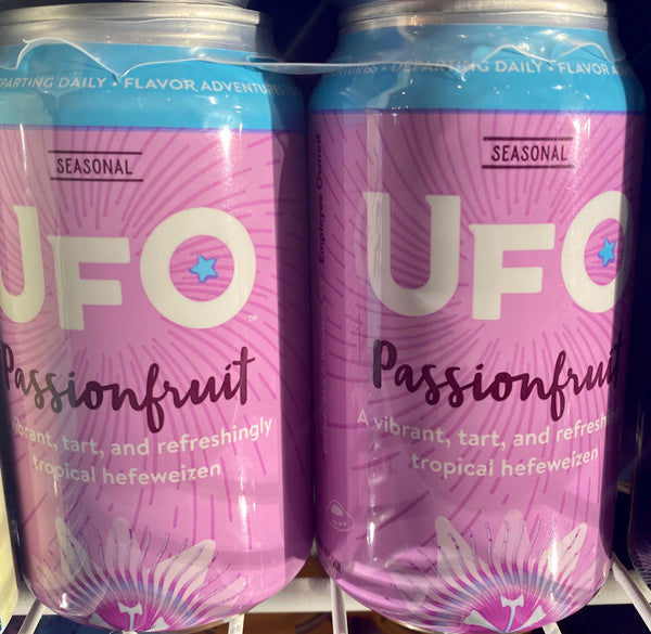 "Harpoon Brewing ""UFO Passionfruit"" Hefeweizen"