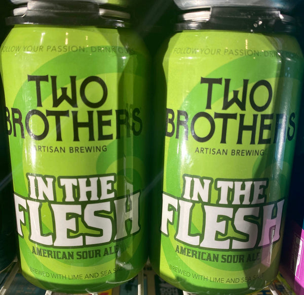 "Two Brothers Brewing ""In The Flesh"" Lime and Sea Salt, American Sour Ale"