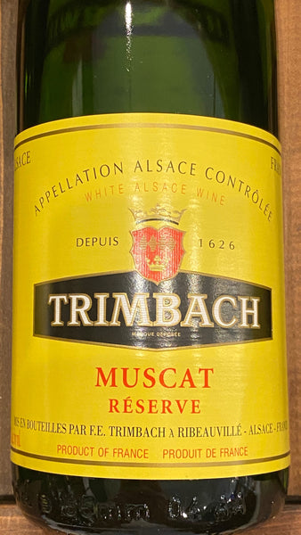 Trimbach Muscat Reserve, 2016