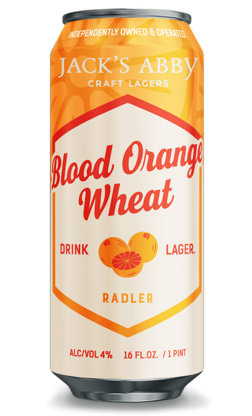 "Jack's Abby Craft Lagers ""Blood Orange Wheat"" Radler"