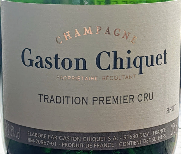 "WEEKNITE LUXE: Gaston Chiquet 1er Cru Brut ""Tradition"" Champagne, N/V"