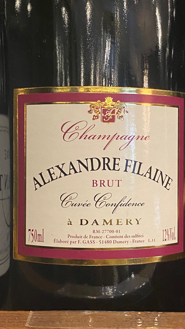 Alexandre Filaine Champagne Brut Cuvee Confidence, France