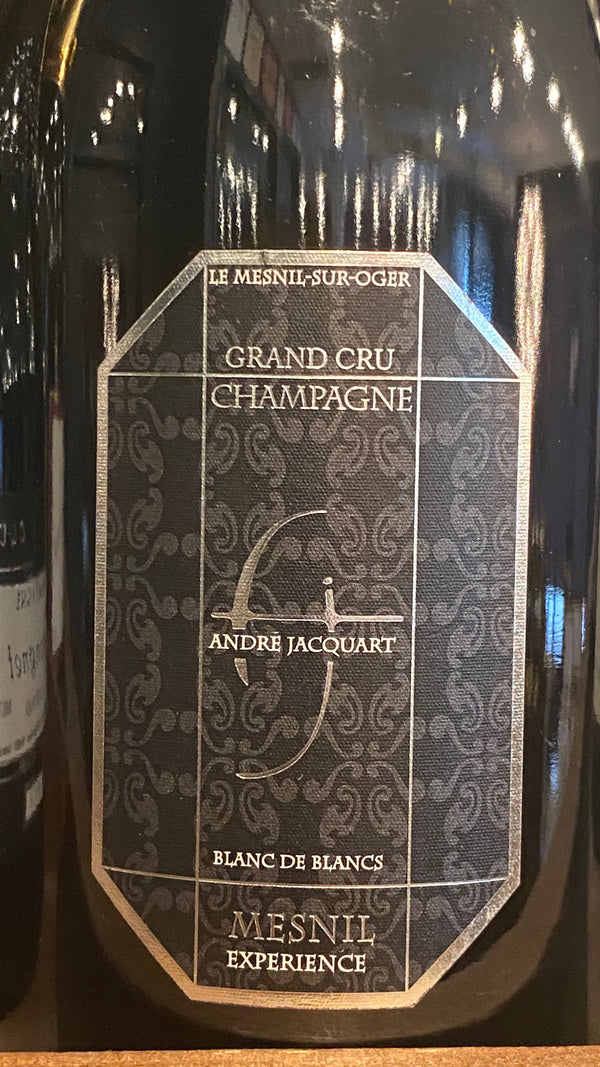 Andre Jacquart Champagne Blanc de Blancs Grand Cru Mesnil Experience, France