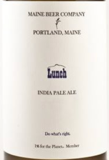 "Maine Beer Co. ""Lunch"" IPA (16.9 oz) Bottle"