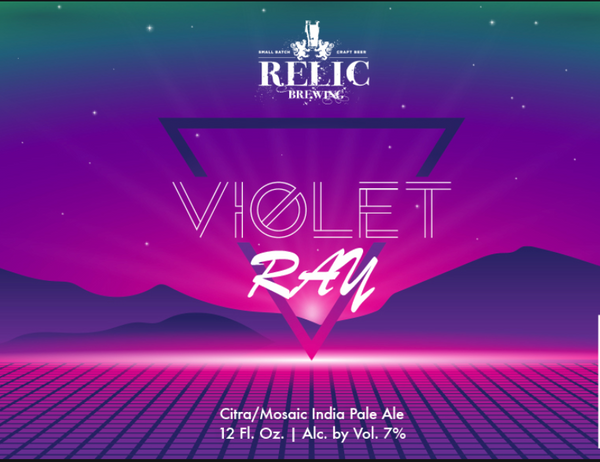"Relic Brewing ""Violet Ray"" IPA"