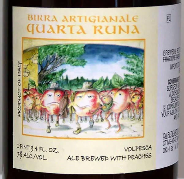 "Birrificio Montegioco ""Quarta Runa"" (12 oz)"