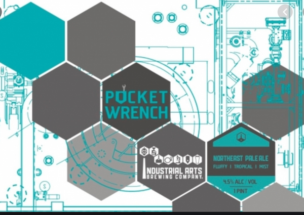 "Industrial Arts Brewing ""Pocket Wrench"" Pale Ale"