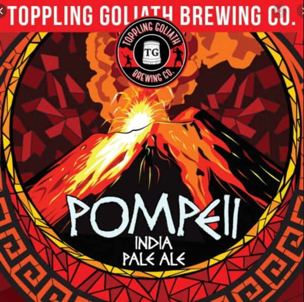 "Toppling Goliath Brewing ""Pompeii"" IPA"