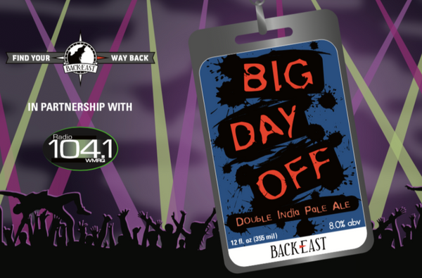 "Back East Brewing ""Big Day Off"" DIPA"
