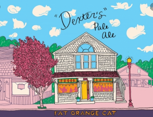 "Fat Orange Cat Brewing ""Dexter's"" Pale Ale"