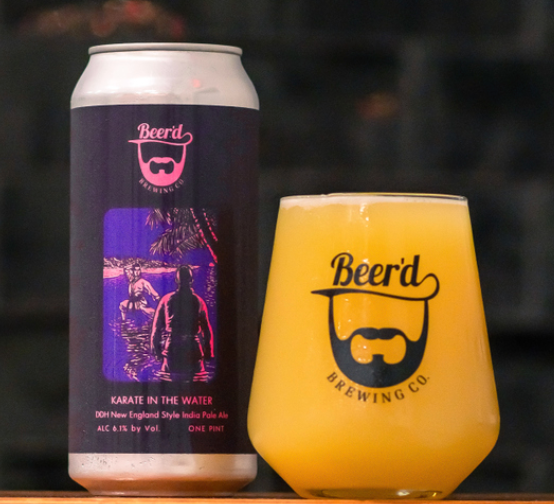 "Beer'd Brewing ""Karate In The Water"" DDH NEIPA"