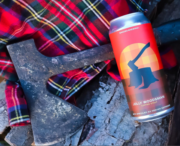 "Banded Brewing ""Jolly Woodsman"" Coffee Stout"