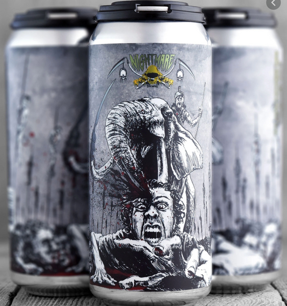 "Nightmare Brewing ""Gunga Rao"" Sour IPA"
