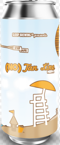 "Sloop Brewing ""(No) Tan Line"" NEIPA"