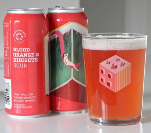 "Collective Arts Brewing ""Blood Orange & Hibiscus"" Sour"