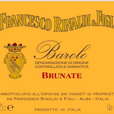 "Francesco Rinaldi ""Brunate"" Barolo DOCG, 2016"
