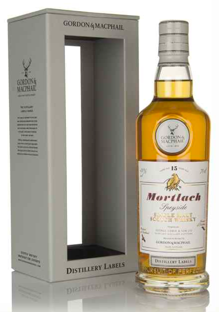 Mortlach 15 Year Old - Distillery Labels (Gordon & MacPhail)