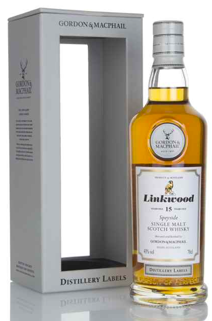 Linkwood 15 Year Old - Distillery Labels (Gordon & MacPhail)